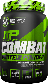MusclePharm Combat Protein Powder - 2lbs Chocolate Milk