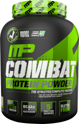 MusclePharm Combat Protein Powder - 4lbs Banana Cream