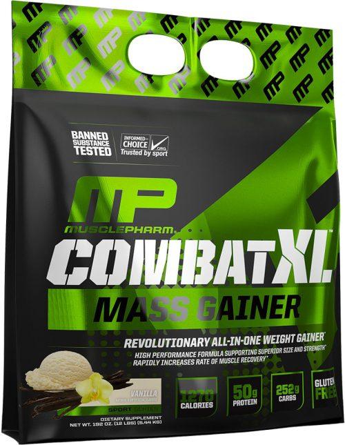 MusclePharm Combat XL Mass Gainer - 12lbs Vanilla