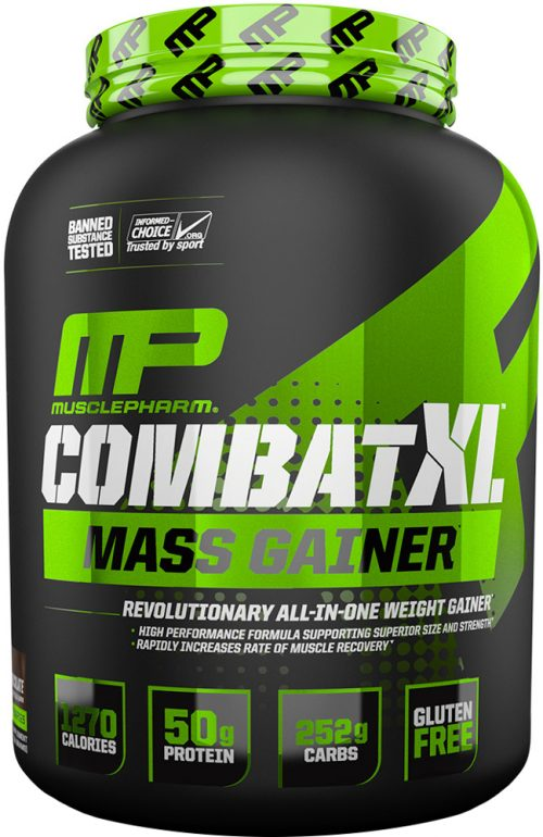 MusclePharm Combat XL Mass Gainer - 6lbs Chocolate