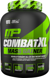MusclePharm Combat XL Mass Gainer - 6lbs Chocolate Peanut Butter