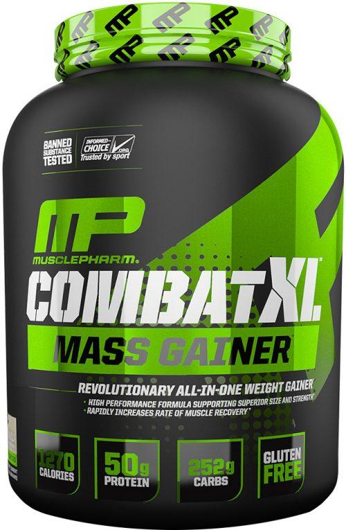 MusclePharm Combat XL Mass Gainer - 6lbs Vanilla