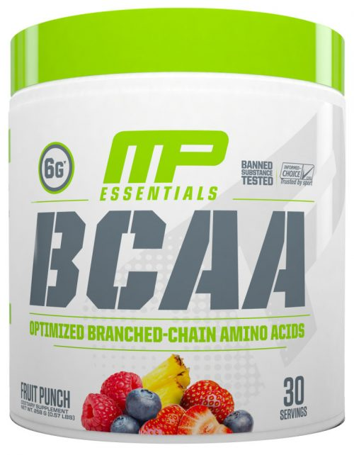 MusclePharm Essentials BCAA - 30 Servings Fruit Punch