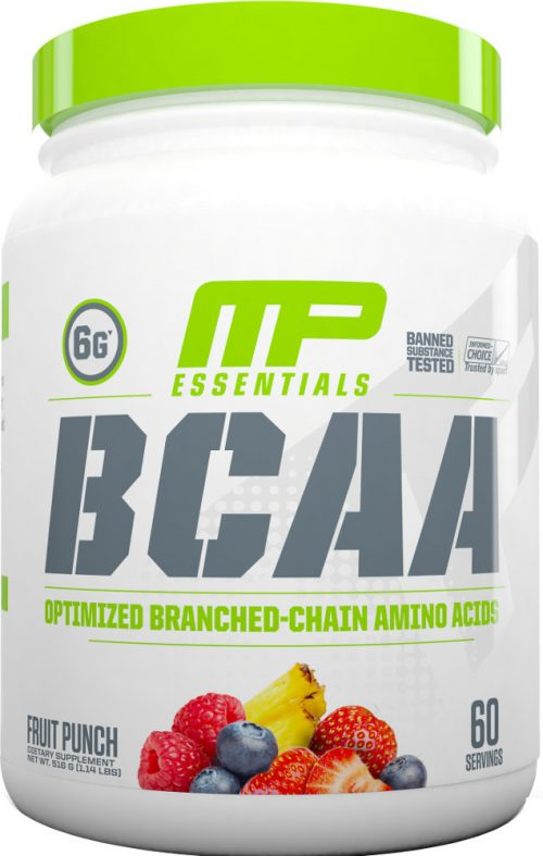 MusclePharm Essentials BCAA - 60 Servings Fruit Punch