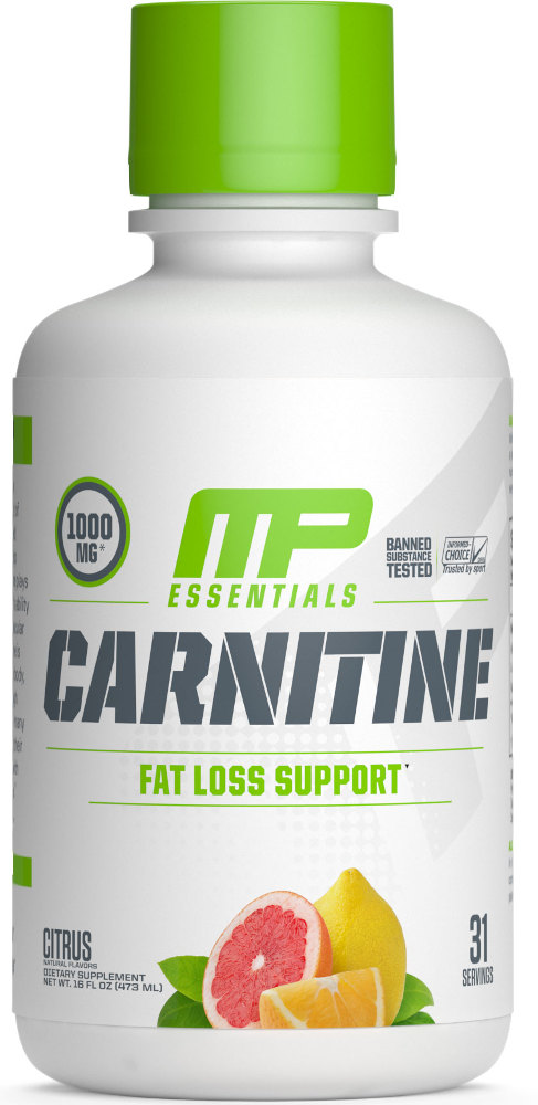 MusclePharm Essentials Carnitine - 30 Servings Citrus