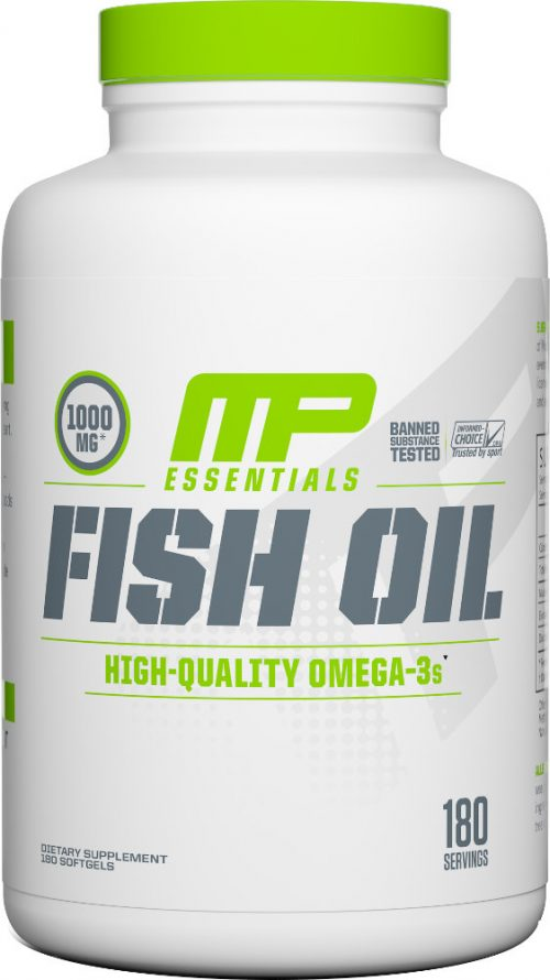 MusclePharm Fish Oil - 180 Softgels