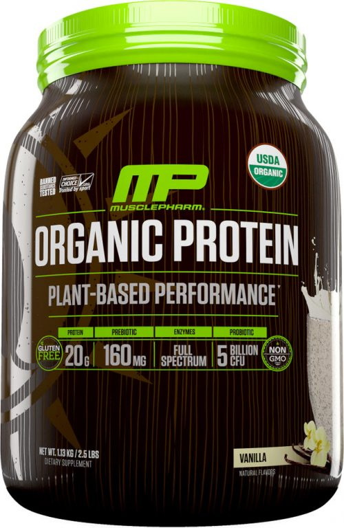 MusclePharm Natural Series Natural Series Organic Protein - 30 Serving