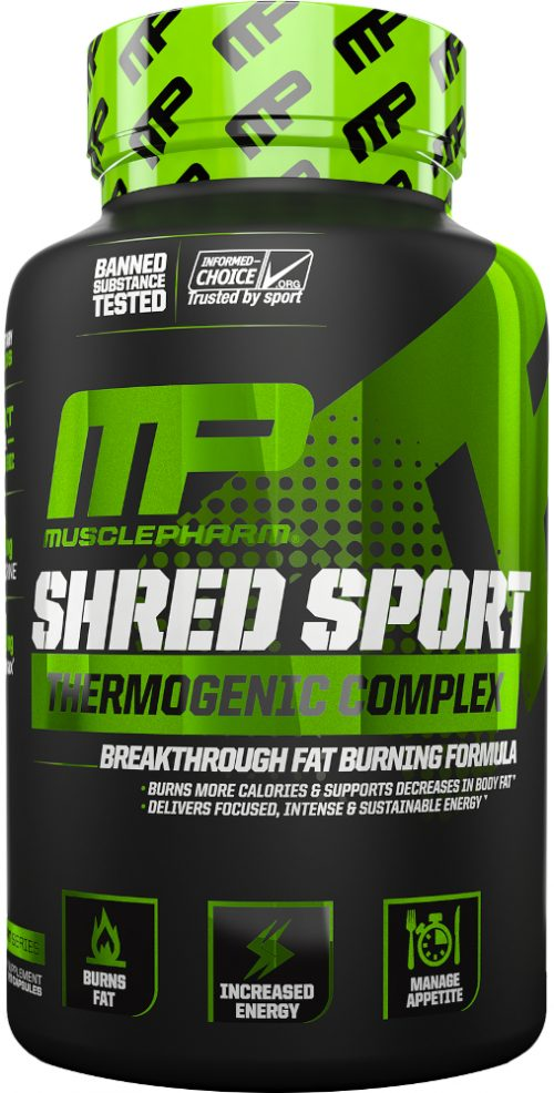 MusclePharm Shred Sport - 60 VCapsules