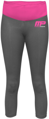 MusclePharm Sportswear Yoga Pants - Small Grey