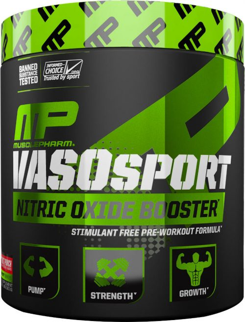 MusclePharm VasoSport - 30 Servings Fruit Punch