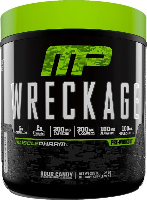 MusclePharm Wreckage - 25 Servings Sour Candy