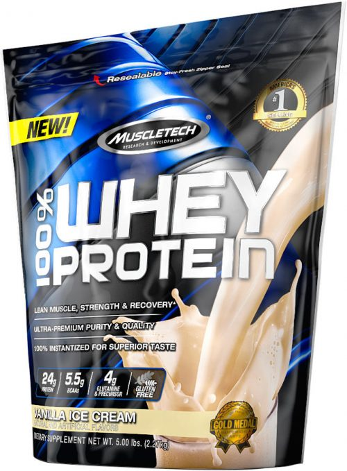 MuscleTech 100% Whey Protein - 5lbs Triple Chocolate Supreme
