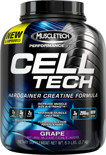 MuscleTech Cell-Tech - 6lbs Grape