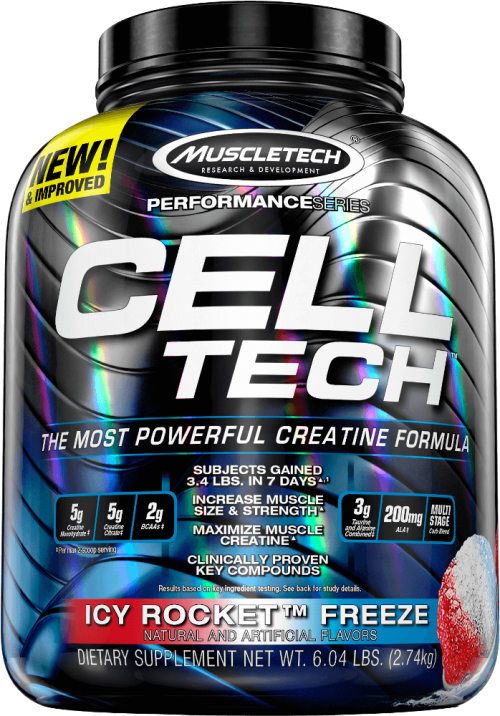 MuscleTech Cell-Tech - 6lbs Icy Rocket Freeze