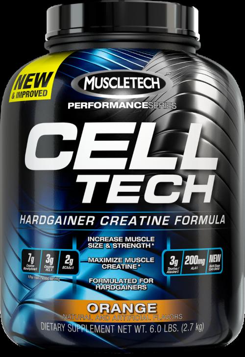 MuscleTech Cell-Tech - 6lbs Orange