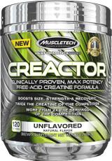 MuscleTech Creactor - 120 Servings Blue Raspberry