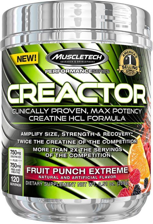 MuscleTech Creactor - 120 Servings Fruit Punch