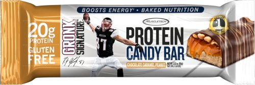 MuscleTech Gronk Signature Protein Candy Bar - 1 Bar Chocolate Caramel