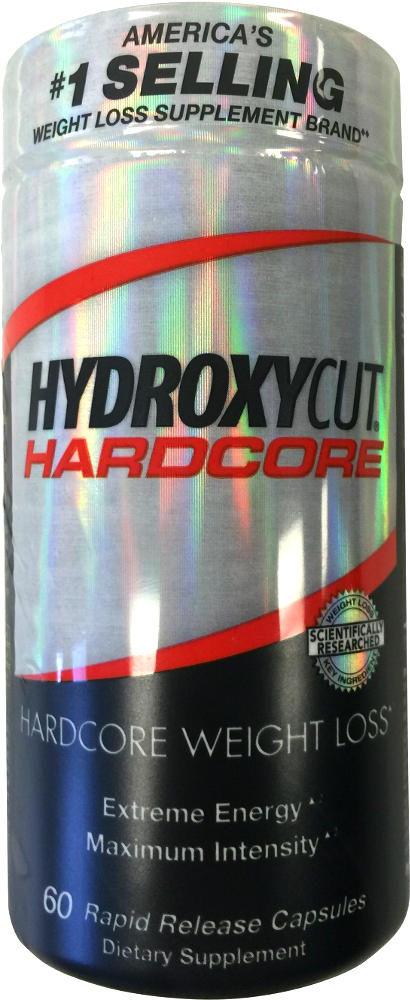 MuscleTech Hydroxycut Hardcore - 60 Rapid Release Capsules