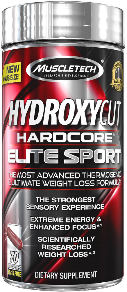 MuscleTech Hydroxycut Hardcore Elite Sport - 70 Capsules