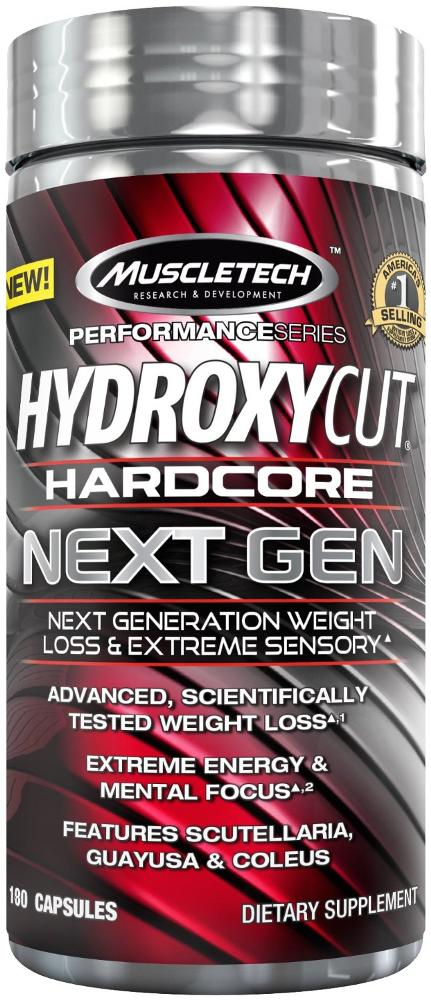 MuscleTech Hydroxycut Hardcore Next Gen - 180 Capsules