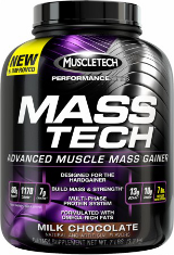 MuscleTech Mass-Tech - 12lbs Milk Chocolate