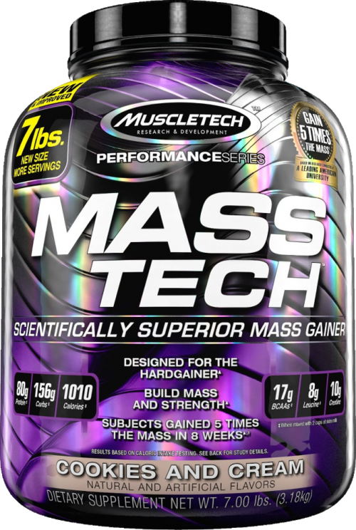 MuscleTech Mass-Tech - 7lbs Cookies N Cream