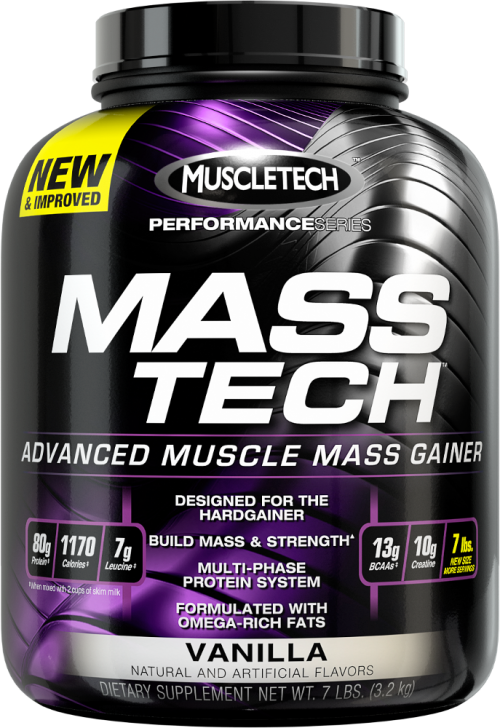 MuscleTech Mass-Tech - 7lbs Vanilla