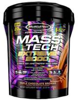 MuscleTech Mass-Tech Extreme 2000 - 22lbs Vanilla Milkshake