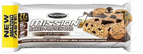 MuscleTech Mission1 Bars - 1 Bar Cookie Dough