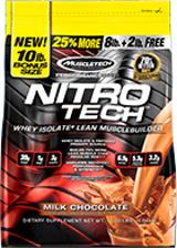 MuscleTech Nitro-Tech - 10lbs Vanilla