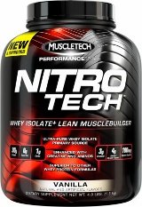 MuscleTech Nitro-Tech - 4lbs Decadent Brownie Cheesecake