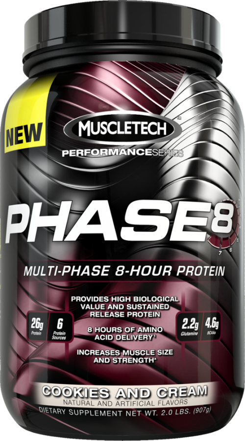 MuscleTech Phase8 - 2lbs Cookies and Cream