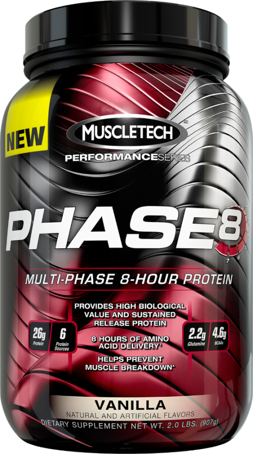 MuscleTech Phase8 - 2lbs Vanilla