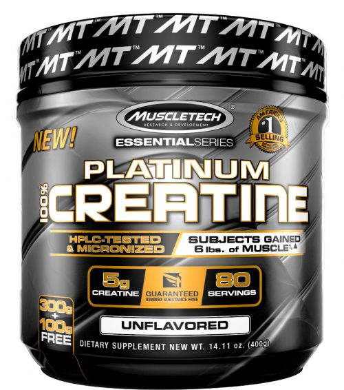 MuscleTech Platinum 100% Creatine - 400g Unflavored