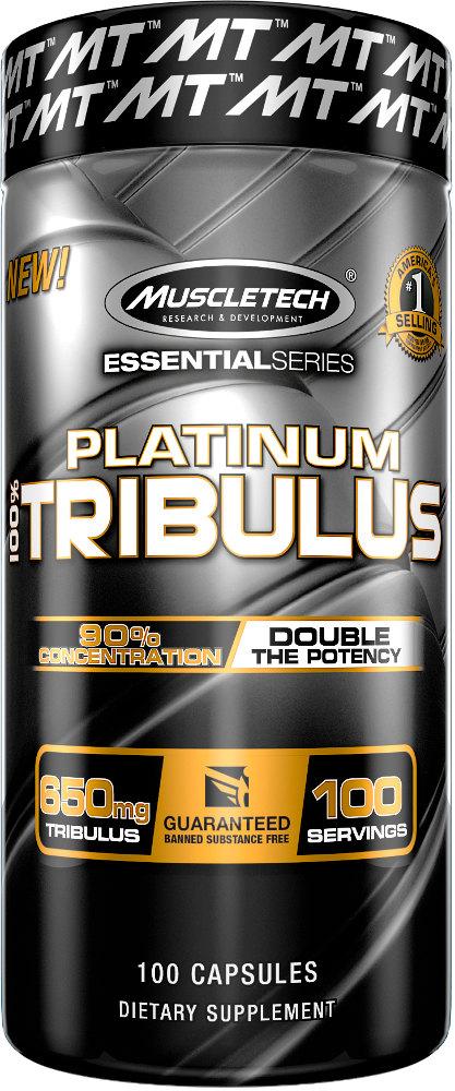 MuscleTech Platinum 100% Tribulus - 100 Capsules