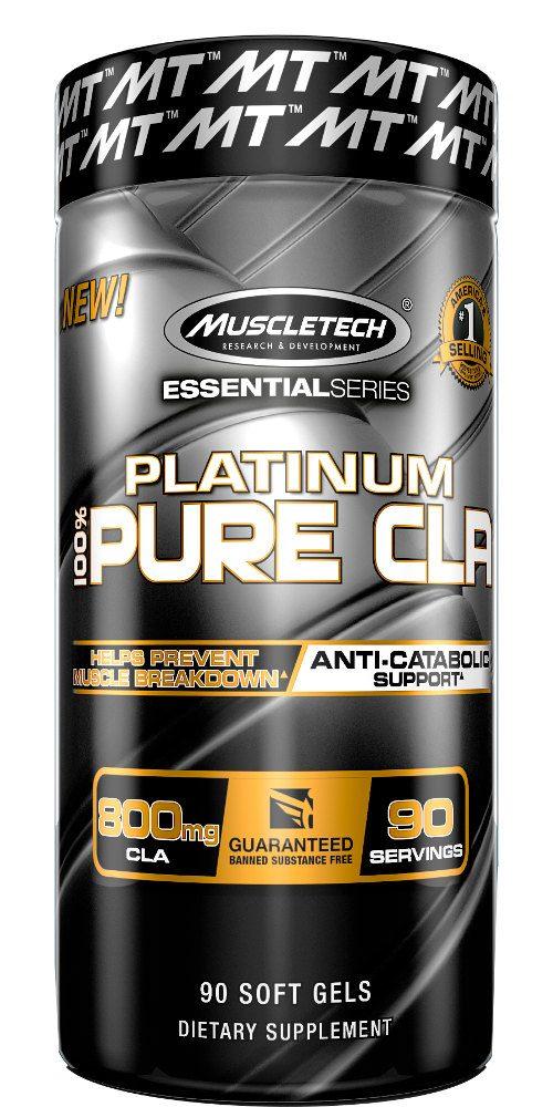 MuscleTech Platinum Pure CLA - 90 Softgels