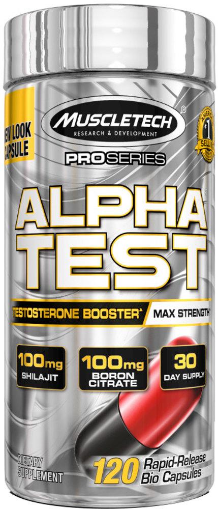 MuscleTech Pro Series Alpha Test - 120 Caplets
