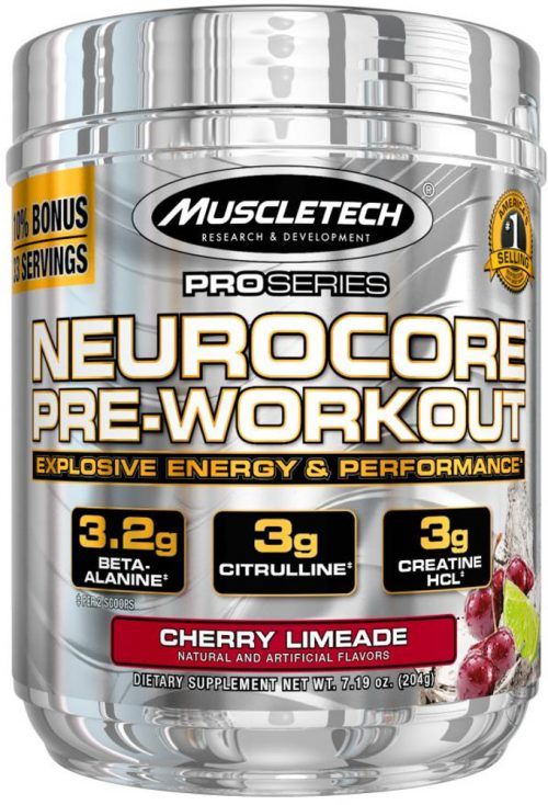 MuscleTech Pro Series NeuroCore - 33 Servings Cherry Limeade