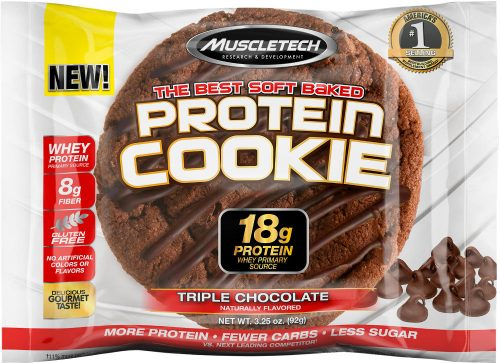 MuscleTech Protein Cookie - 1 Cookie Triple Chocolate