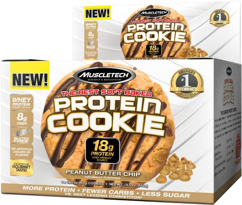 MuscleTech Protein Cookie - 6 Cookies Peanut Butter Chip