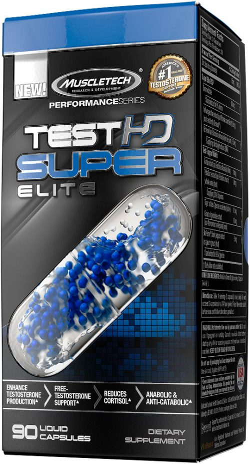 MuscleTech Test HD Super Elite - 90 Capsules