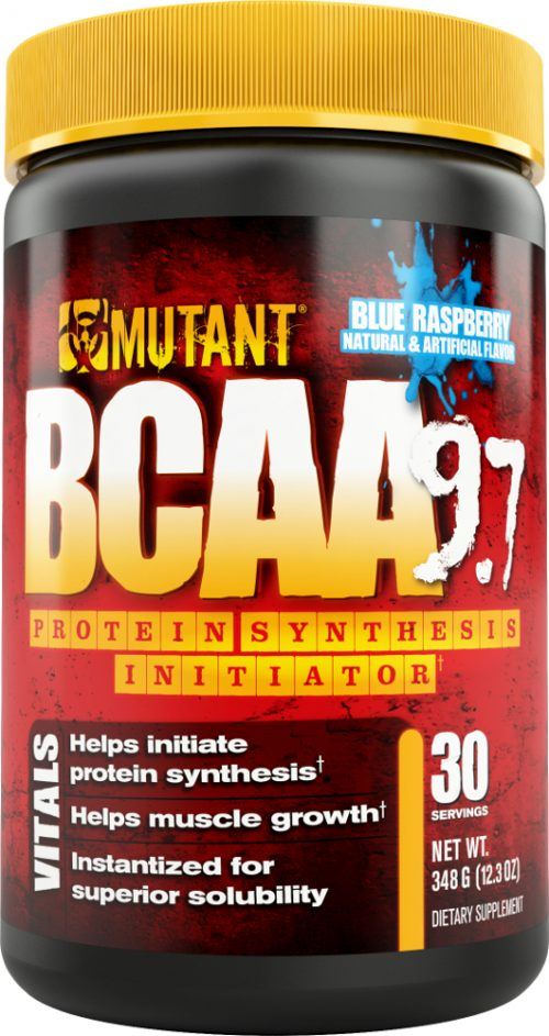 Mutant BCAA 9.7 - 30 Servings Blue Raspberry