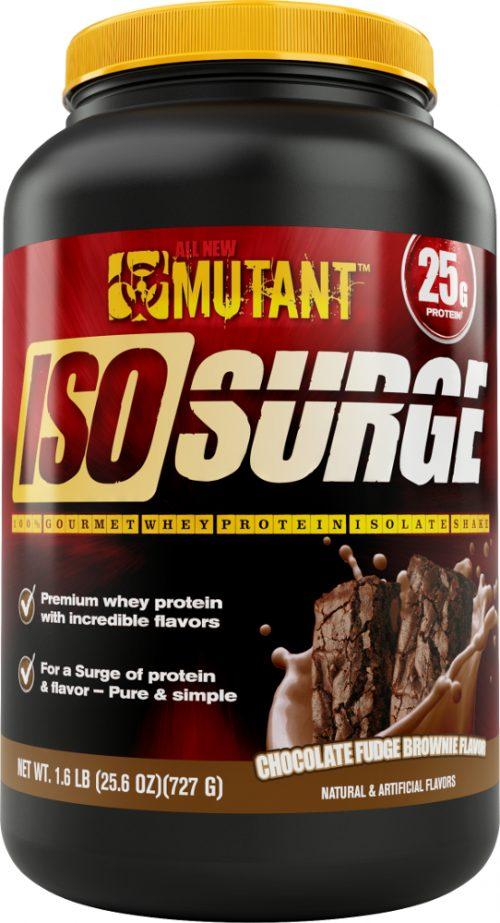 Mutant Iso Surge - 1.6lbs Chocolate Fudge Brownie