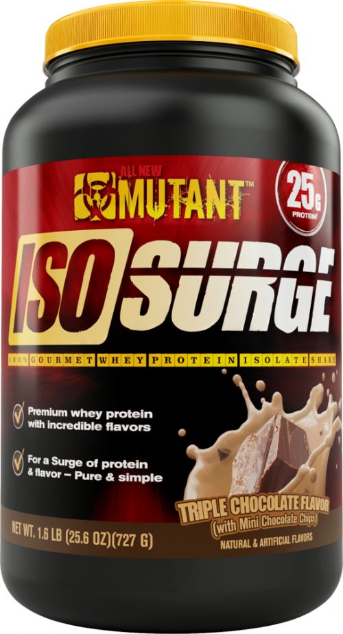 Mutant Iso Surge - 1.6lbs Triple Chocolate