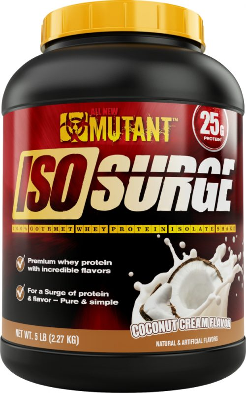 Mutant Iso Surge - 5lbs Coconut Cream