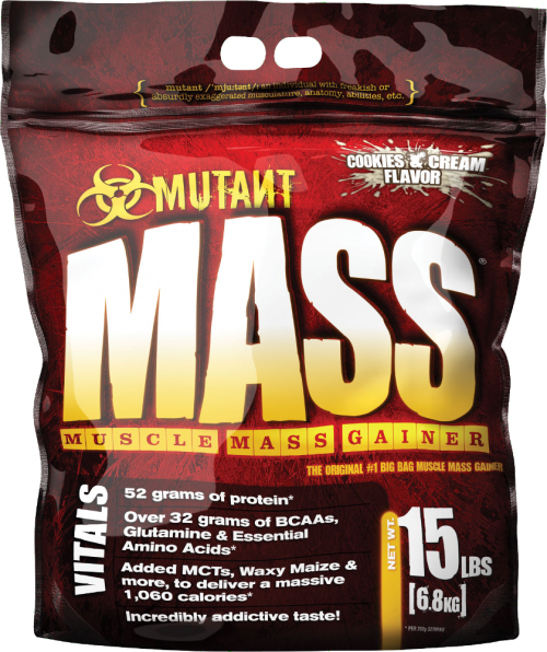 Mutant Mutant Mass Gainer - 15lbs Cookies & Cream