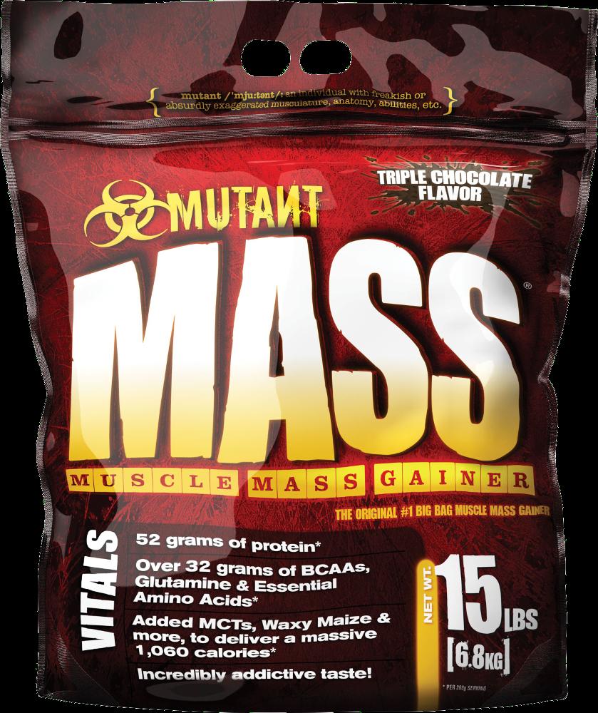 Mutant Mutant Mass Gainer - 15lbs Triple Chocolate Flavor