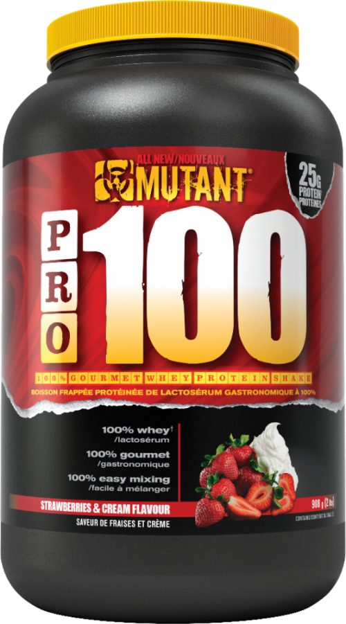 Mutant Pro 100 - 2lbs Strawberries & Cream