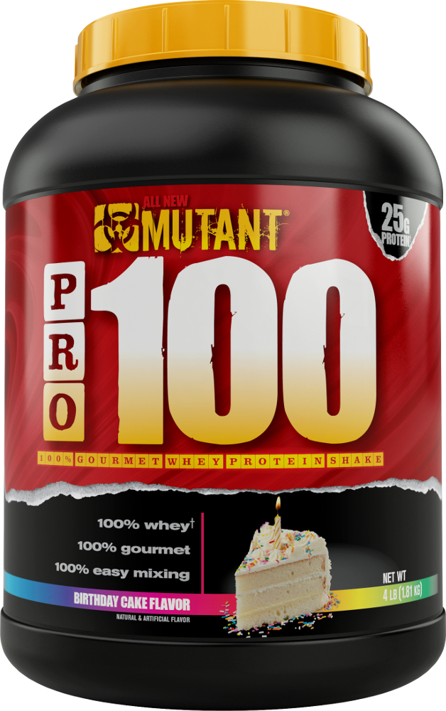 Mutant Pro 100 4lbs Birthday Cake